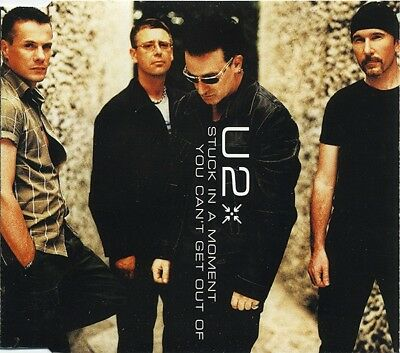 U2 - Stuck In A Moment You Can't Get Out Of (CD)