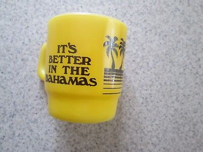 It's Better In The Bahamas Anchor Hocking Coffee Mug