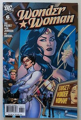 Wonder Woman (2006) #6 Terry Dodson Cover Jodi Picoult 1St Printing Vf+ Movie