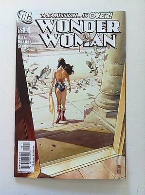 Wonder Woman V.2 #225 J G Jones Cover 1St Printing Vf/nm 2006 Greg Rucka Movie