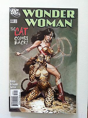 Wonder Woman V.2 #222 J G Jones Cover 1St Printing Vf/nm 2005 Greg Rucka Movie