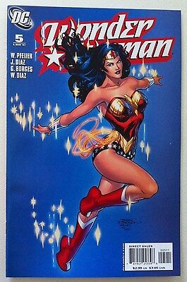 Wonder Woman (2006) #5 Terry Dodson Cover Jean Diaz Art 1St Printing Vf/nm Movie