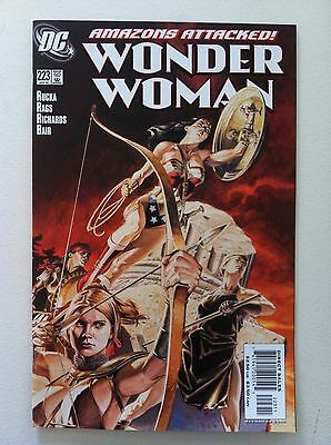 Wonder Woman V.2 #223 J G Jones Cover 1St Printing Vf/nm 2006 Greg Rucka Movie