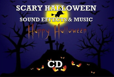 🎃 Scary Halloween Music & Sounds 🎃 Cd 80 Mins 👻 Witches Wolves Ghosts