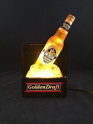 Vintage Michelob Golden Draft Bottle Lighted Sign