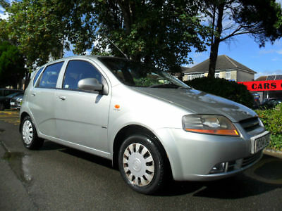 Daewoo Kalos 2004 1.2 Xtra Complete With M.o.t Hpi Clear