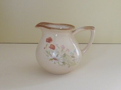 Fosters Pottery Floral Milk Jug  (63.151)