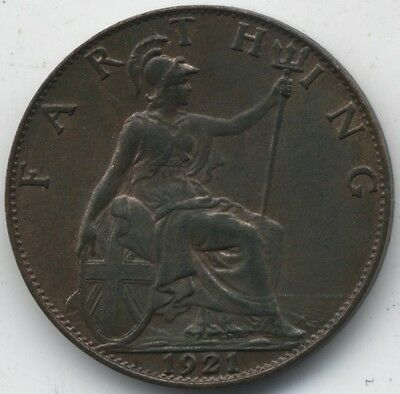 1921 George V Farthing***High Grade***Collectors***