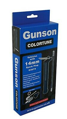 Gunson G4074 colortune single plug kit for vehicles with 14mm thread spark plugs