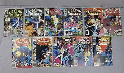 Marvel lot of 11 Cloak and Dagger Book 1 2 3 5 6 7 8 9 1983 1985