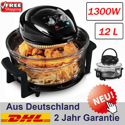 12L Multi-Function Backofen Friteuse Heißluft Oil-Less Fatless Healthy Fritöse
