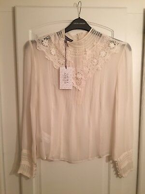 NEW Laura Ashley size 18 silk blouse from the Archive collection