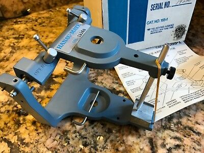 NEW HANAU HANAU-MATE Average Dental Articulator 165-1 Plain Line Lingual Access