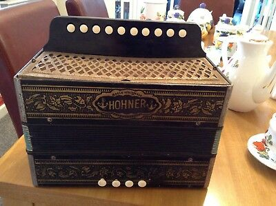 Vintage Small Hohner accordion