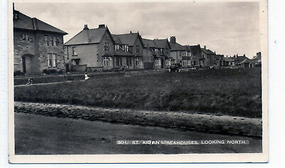 Old postcard St. Aidans  Seahouses Northumberland.