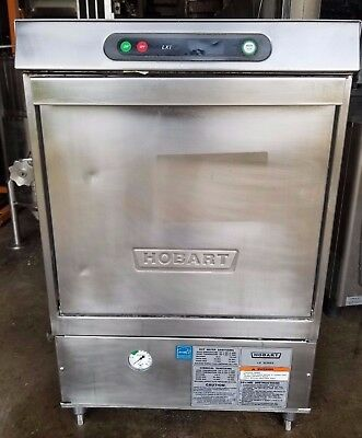 Hobart Lxih Commercial Undercounter Sanitizing Dishwasher Free Shipping