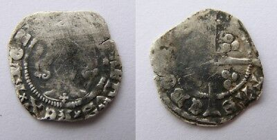 Richard II Penny.  York mint.  Lis on breast