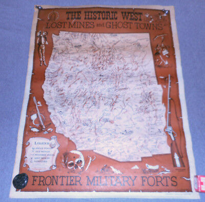 1968 Frontier Military Forts, Lost Mines, Ghost Towns