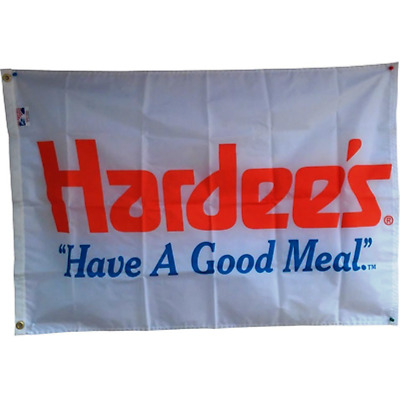 Vintage Hardees Flag from 1980's
