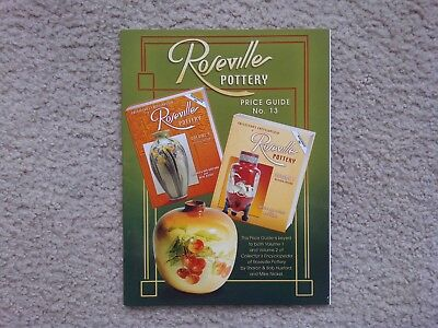 """Roseville Pottery Price Guide -- No. 13 -- Huxford -- """"collectible"""""""