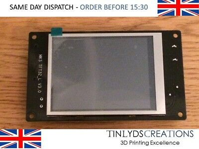 3.2'' MKS TFT32 Full Color Touch Screen LCD for MKS GEN V1.4 3D Printer RepRap