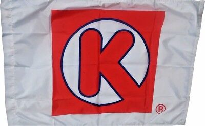 Vintage Circle K  Flag from 1980's