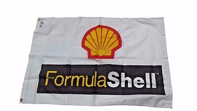 Vintage Formula Shell Flag from 1980's