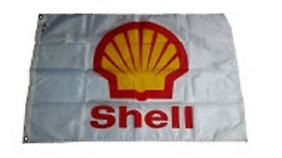 Vintage Shell Flag from 1980's