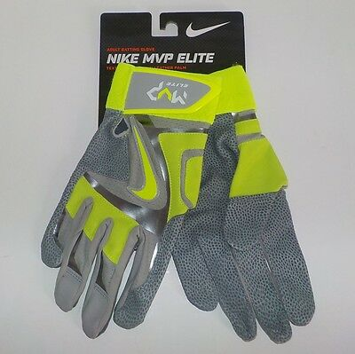 Nike MVP ELITE Baseball & Softball Batting Gloves GB0378 071 Adult SMALL