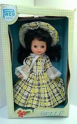 Hard Plastic or Rubber Southern Belle Doll by Paco~RARE~NIB