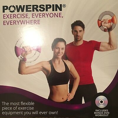 POWERSPIN EVO by POWERBALL, NEW WORKOUT EQUIPMENT FOR TONED ARMS AND BINGO WINGS