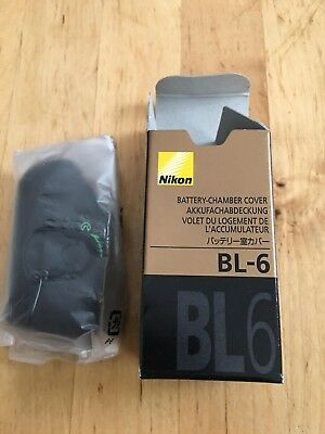 Nikon BL-6 Battery Chamber Cover for D4