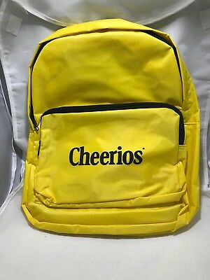 Cheerios Breakfast Cereal Kids Collectible Promotional School Travel Backpack