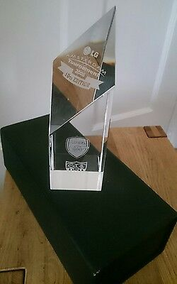 The Amsterdam Tournament 2008 special crystal presentation trophy