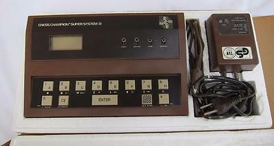 1979 Vintage Chess Champion Super System III Schach Computer in Box l