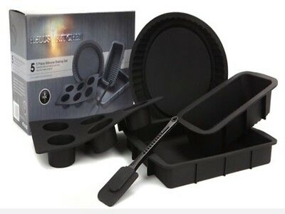 Hells Kitchen 5 Piece Silicone Baking Set