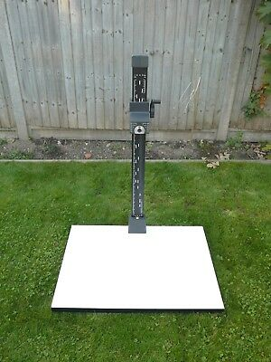 Kaiser Copy/Repro Stand. 800x600x32mm Baseboard, 1m tall column. Very Good Cond'