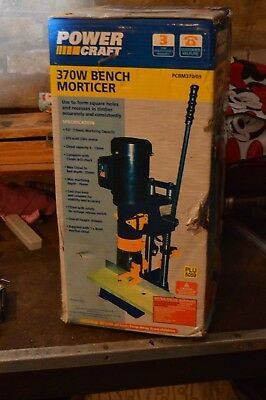Powercraft Bench Top Morticer and Chisel Set