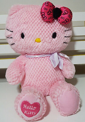 Build A Bear Hello Kitty Plush Toy! Soft Toy About 32Cm Seated Kids Toy!