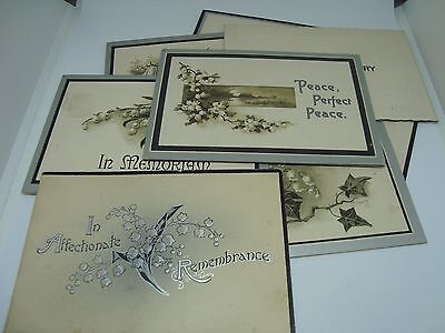 VINTAGE FUNERAL/MEMORIAL CARDS! Various Dates from 1912-1929!