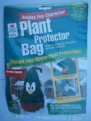 "Easy Gardener 40206 Plant Winter Weather Protection Bag 51"" x 63"" GARDEN GNOME"