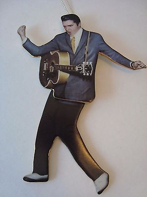 "Swivel Elvis Ornament Bradford Exchange""DON'T BE CRUEL"" Awesome!"