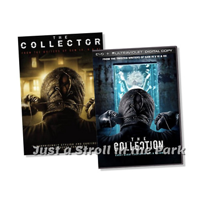 The Collector + The Collection: 2 Josh Stewart Horror Movies Box/DVD Set(s) NEW!