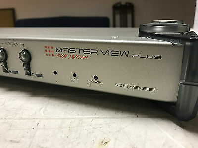 ATEN Master View 8-Port PS/2 KVM Switch CS-9138