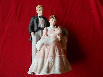 "Home Interiros Porcelain ""Our Family"" Figurine- New"