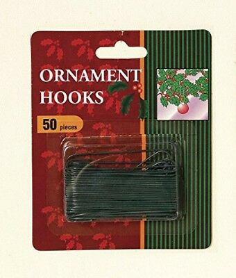 2.5' Green Ornament Hooks (pack OF 50)