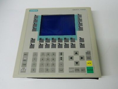 Siemens OP170B 6AV3 542-0BB15-2AX0 Operator Panel HMI screen