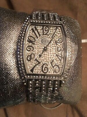Cher Watch By Swarovski New In Box Colosseum Concert Caesers Rare Cher 2009-10
