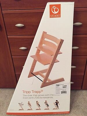Brand New Stokke Tripp Trapp High Chair Natural