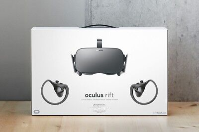 Oculus Rift CV1 & Touch Controllers - PC VR Virtual Reality Headset